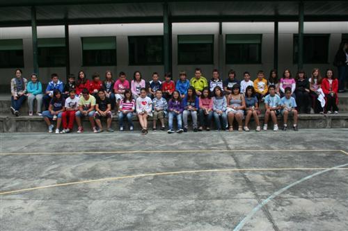 Os de 6º visitamos o IES Illa de Ons